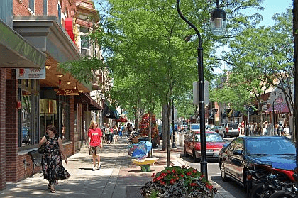 Downtown Naperville, IL