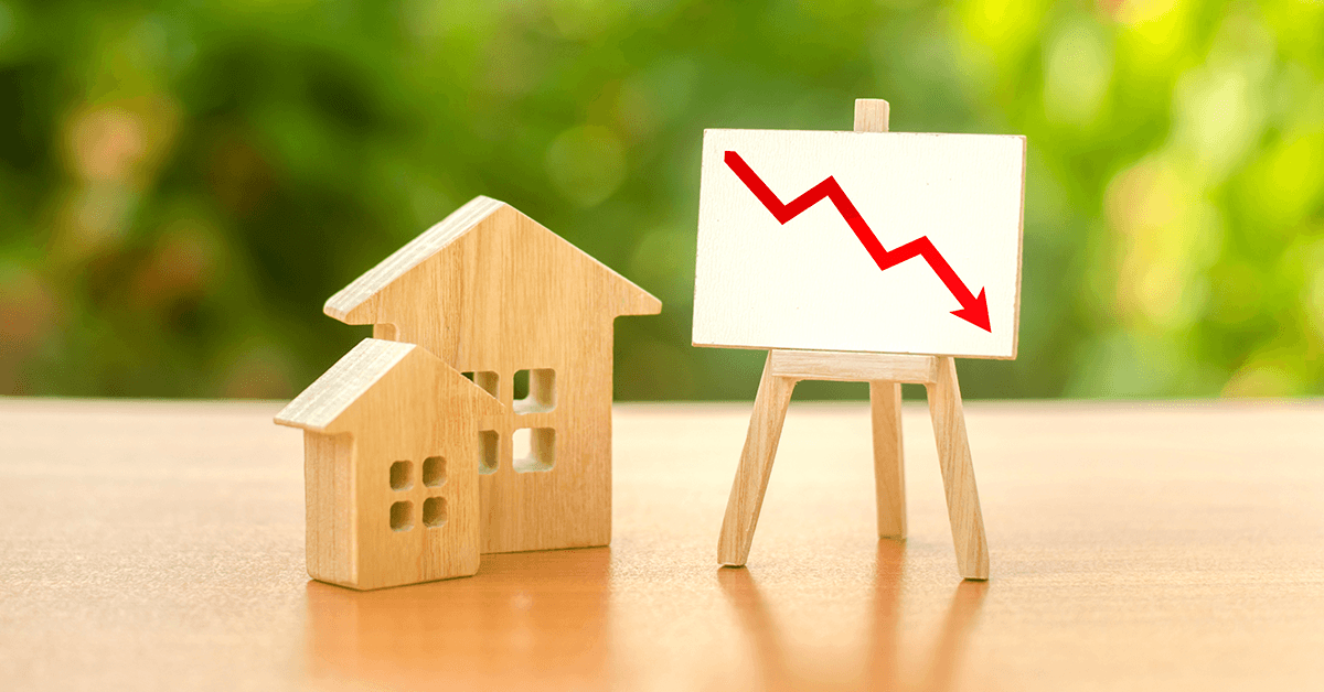 Rates Fall, Housing Inventory Falls, Low LTV Loans get more house for less, no starter homes